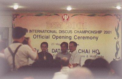 DSM 2001 Kuala Lumpur