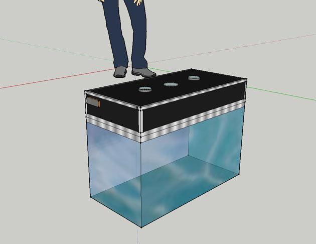 Luci per acquario dolce dispositivi led per acquari e crescita