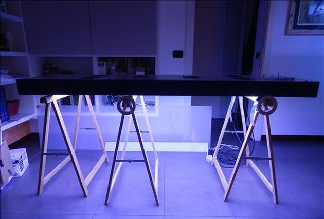 Plafoniera LED cm 190