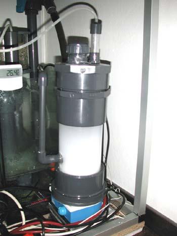 kalkwasser con agitatore magnetico