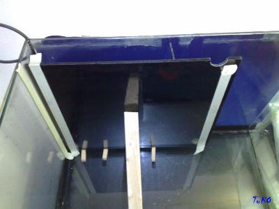 filtro acquario vista laterale