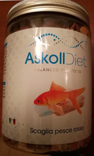 Mangime Askoll Diet Scaglia pesce rosso