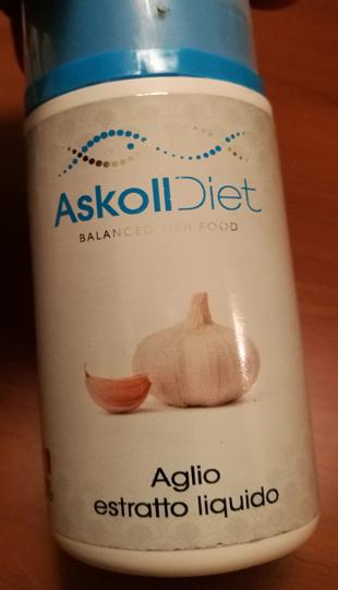 Mangime Askoll Diet Scaglia succo d'aglio