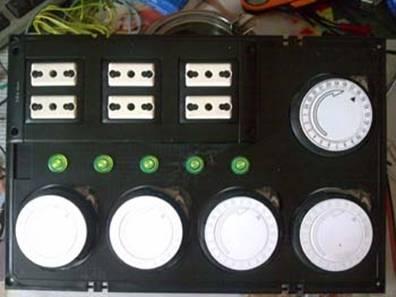 Centralina timerizzata per acquario a 5 canali centralina timerizzata