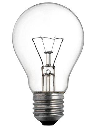 Lampada incandescenza tradizionale