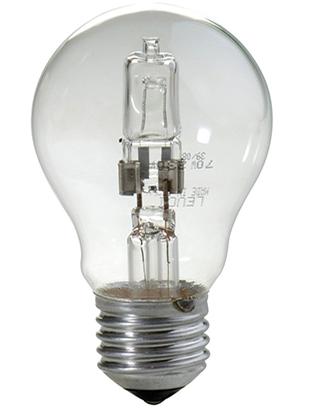 Lampada E27 versione alogena