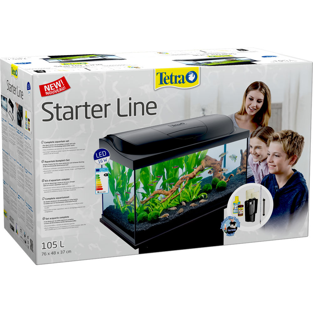 Tetra Starter Line LED 105 L box