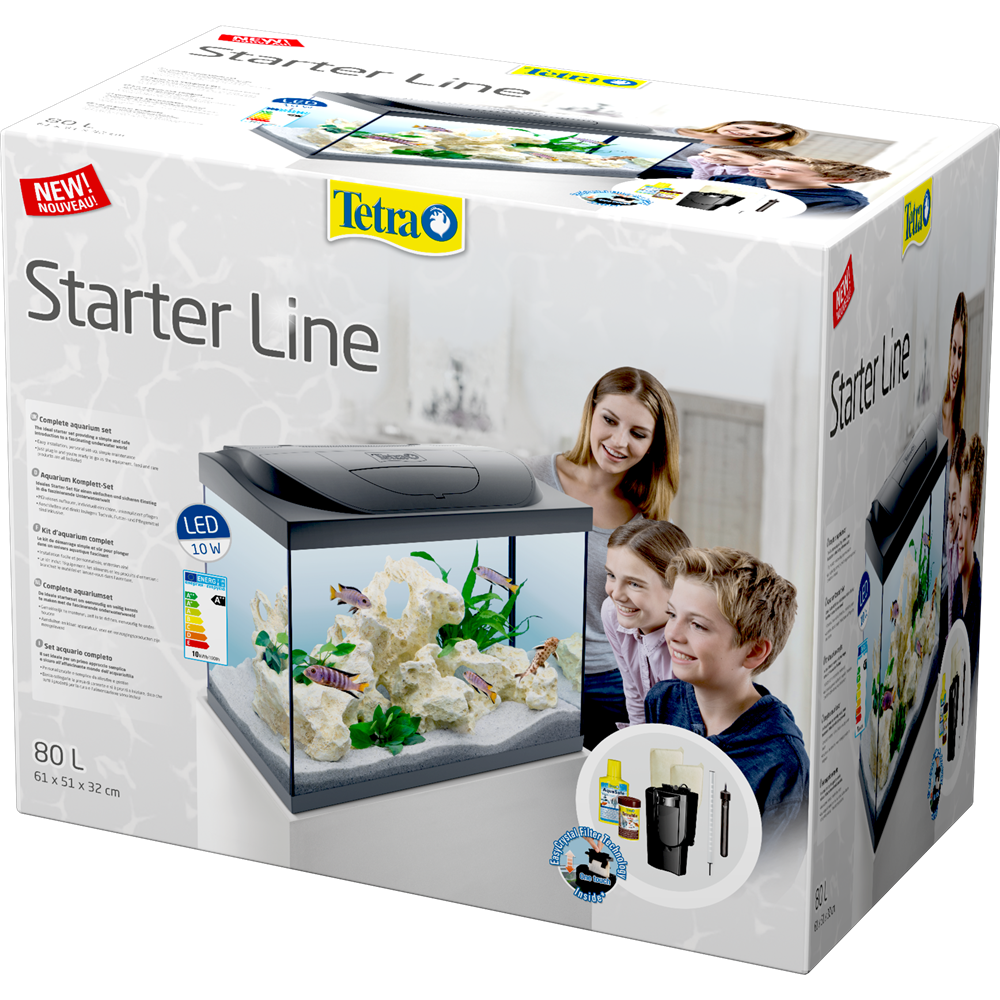 Tetra Starter Line LED 80 L box