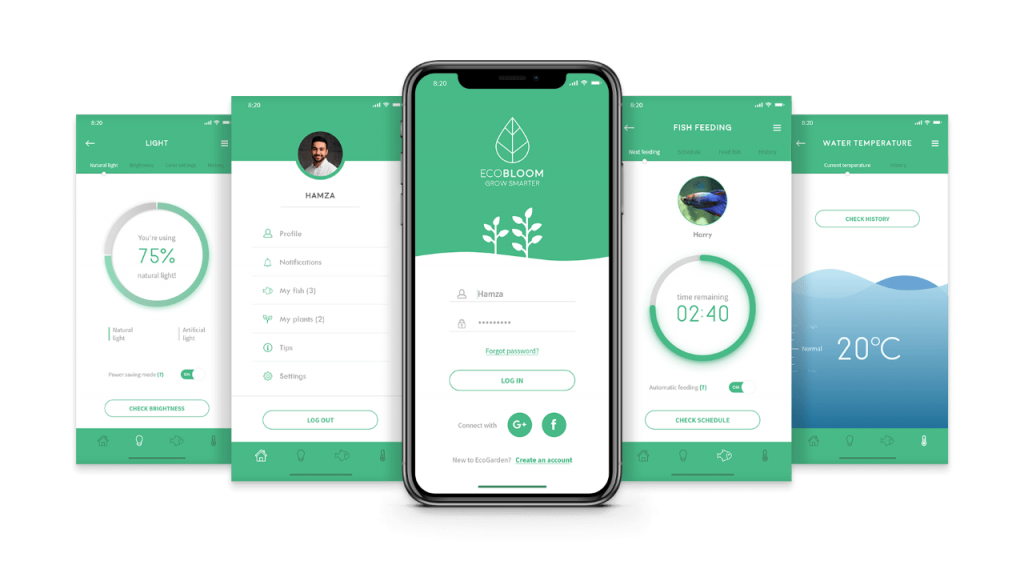 EcoGarden app