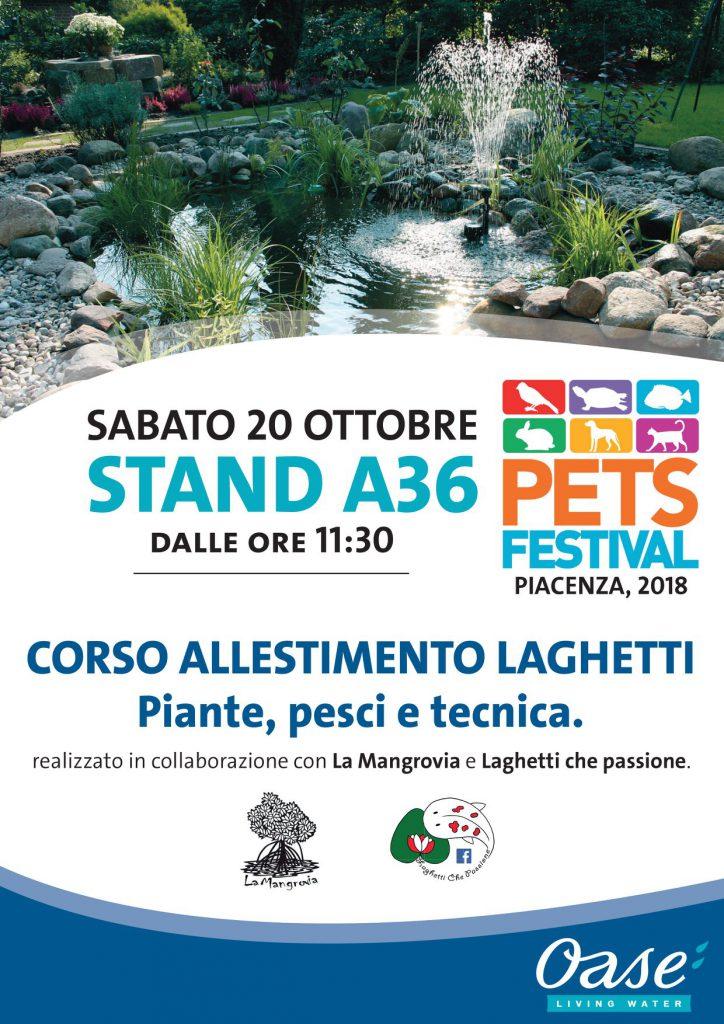 PetsFestival 2018 corso laghetti