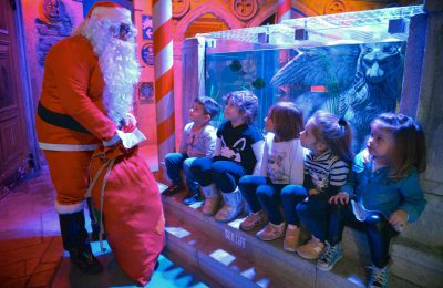 natale al sea life aquarium